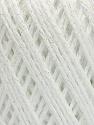 Состав пряжи 50% Хлопок, 30% Акрил, 20% Металлический люрекс, White, Irridescent, Brand Ice Yarns, fnt2-55281