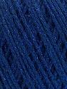Состав пряжи 50% Хлопок, 30% Акрил, 20% Металлический люрекс, Brand Ice Yarns, Blue, fnt2-55295