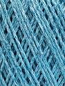 Состав пряжи 50% Хлопок, 30% Акрил, 20% Металлический люрекс, Light Blue, Brand Ice Yarns, fnt2-55296