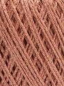 Состав пряжи 50% Хлопок, 30% Акрил, 20% Металлический люрекс, Light Pink, Brand Ice Yarns, Gold, fnt2-55302