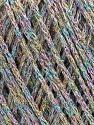 Состав пряжи 50% Хлопок, 30% Акрил, 20% Металлический люрекс, Rainbow, Brand Ice Yarns, fnt2-55304