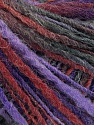 Fasergehalt 50% Wolle, 50% Acryl, Purple Shades, Brand Ice Yarns, Burgundy, fnt2-55305