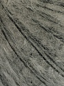 Fasergehalt 50% Mohair, 50% Wolle, Brand Ice Yarns, Grey, Black, fnt2-55324