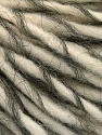 Fasergehalt 50% Wolle, 40% Acryl, 10% Mohair, Brand Ice Yarns, Grey, Cream, fnt2-55331