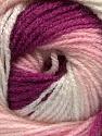 Fasergehalt 100% Acryl, White, Pink, Orchid, Brand Ice Yarns, fnt2-55356