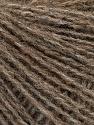 Fasergehalt 50% Acryl, 25% Alpaka, 25% Merinowolle, Brand Ice Yarns, Camel Melange, fnt2-55411