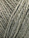 Fiber Content 100% Hemp Yarn, Light Grey, Brand ICE, Yarn Thickness 3 Light  DK, Light, Worsted, fnt2-55421