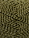 Fasergehalt 75% Superwash Wolle, 25% Polyamid, Khaki, Brand Ice Yarns, fnt2-55469