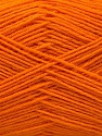 Fasergehalt 75% Superwash Wolle, 25% Polyamid, Orange, Brand Ice Yarns, fnt2-55470