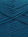 Fasergehalt 75% Superwash Wolle, 25% Polyamid, Teal, Brand Ice Yarns, fnt2-55476