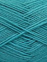 Fiber Content 75% Superwash Wool, 25% Polyamide, Turquoise, Brand Ice Yarns, Yarn Thickness 1 SuperFine  Sock, Fingering, Baby, fnt2-55477