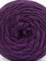 Fasergehalt 100% Wolle, Purple Melange, Brand Ice Yarns, fnt2-55494