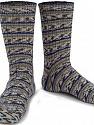 Fasergehalt 75% Superwash Wolle, 25% Polyamid, Brand Ice Yarns, Grey, Cream, Blue, Beige, Yarn Thickness 1 SuperFine  Sock, Fingering, Baby, fnt2-55548
