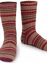 Состав пряжи 75% Superwash Wool, 25% Полиамид, Red, Purple, Brand Ice Yarns, Brown Shades, Yarn Thickness 1 SuperFine  Sock, Fingering, Baby, fnt2-55550