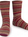 Fasergehalt 75% Superwash Wolle, 25% Polyamid, Red, Purple, Brand Ice Yarns, Brown Shades, Yarn Thickness 1 SuperFine  Sock, Fingering, Baby, fnt2-55550