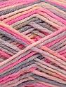 Состав пряжи 60% Полиамид, 40% Вискоза, Pink, Light Lilac, Brand Ice Yarns, Grey, fnt2-55599