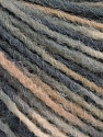 Состав пряжи 100% Акрил, Brand Ice Yarns, Grey Shades, Cream, fnt2-55605