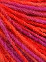 Состав пряжи 100% Акрил, Pink, Orange, Brand Ice Yarns, Fuchsia, fnt2-55610
