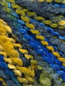 Fasergehalt 82% Acryl, 8% Polyamid, 10% Polyester, Navy, Brand Ice Yarns, Green, Gold, Blue, fnt2-55636