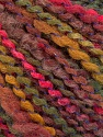 Fasergehalt 82% Acryl, 8% Polyamid, 10% Polyester, Pink, Maroon, Brand Ice Yarns, Green, fnt2-55638