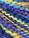 Fasergehalt 82% Acryl, 8% Polyamid, 10% Polyester, Yellow, Turquoise, Lilac, Brand Ice Yarns, Blue, fnt2-55643