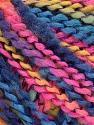 Состав пряжи 82% Акрил, 8% Полиамид, 10% Полиэстер, Yellow, Pink, Brand Ice Yarns, Blue Shades, fnt2-55645