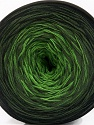 Fiber Content 50% Cotton, 50% Acrylic, Brand Ice Yarns, Green Shades, Black, Yarn Thickness 2 Fine  Sport, Baby, fnt2-55668