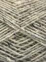 Fasergehalt 70% Wolle, 5% Acryl, 25% Polyamid, Light Grey, Brand Ice Yarns, Cream, fnt2-55708