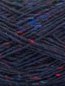 Fasergehalt 70% Wolle, 5% Acryl, 25% Polyamid, Navy, Brand Ice Yarns, fnt2-55715