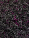 Fasergehalt 26% Polyamid, 22% Acryl, 18% Viskose, 17% Alpaka, 17% Wolle, Brand Ice Yarns, Fuchsia, Dark Grey, fnt2-55806