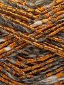 Fiber Content 40% Wool, 40% Acrylic, 20% Polyamide, Orange, Brand Ice Yarns, Grey Shades, Yarn Thickness 4 Medium  Worsted, Afghan, Aran, fnt2-55845