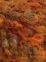 Fasergehalt 45% Acryl, 25% Wolle, 20% Mohair, 10% Polyamid, Orange Shades, Brand Ice Yarns, Green Shades, fnt2-55874