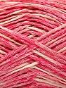 Fasergehalt 48% Baumwolle, 32% Acryl, 20% Polyamid, Pink, Brand Ice Yarns, Cream, fnt2-55884