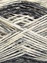 Fasergehalt 60% Baumwolle, 24% Polyamid, 16% Acryl, Brand Ice Yarns, Grey Shades, Cream, fnt2-55885
