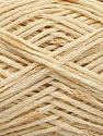 Fasergehalt 84% Baumwolle, 16% Polyamid, Brand Ice Yarns, Cream, fnt2-55887