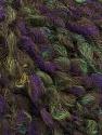 Fiber Content 55% Wool, 27% Acrylic, 18% Polyamide, Purple, Brand Ice Yarns, Green, Yarn Thickness 5 Bulky  Chunky, Craft, Rug, fnt2-55940