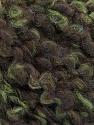 Fiber Content 55% Wool, 27% Acrylic, 18% Polyamide, Brand Ice Yarns, Green, Brown, Yarn Thickness 5 Bulky  Chunky, Craft, Rug, fnt2-55941
