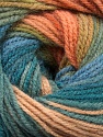 Fiber Content 100% Acrylic, Turquoise, Salmon, Brand Ice Yarns, Green Shades, Blue, Yarn Thickness 3 Light  DK, Light, Worsted, fnt2-55955