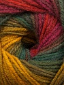 Fiber Content 100% Acrylic, Yellow, Red, Pink, Brand Ice Yarns, Green Shades, Fuchsia, Yarn Thickness 3 Light  DK, Light, Worsted, fnt2-55957