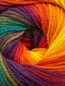 Fiber Content 100% Acrylic, Rainbow, Brand Ice Yarns, Yarn Thickness 3 Light  DK, Light, Worsted, fnt2-55959