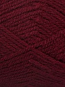 Fiber Content 100% Premium Acrylic, Brand Ice Yarns, Burgundy, Yarn Thickness 3 Light  DK, Light, Worsted, fnt2-55988