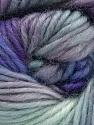 Fasergehalt 100% Wolle, Lilac, Brand Ice Yarns, Grey, Blue Shades, Yarn Thickness 4 Medium  Worsted, Afghan, Aran, fnt2-55989