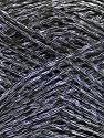 Fiber Content 44% Acrylic, 44% Cotton, 12% Polyamide, Brand Ice Yarns, Grey, Black, Yarn Thickness 2 Fine  Sport, Baby, fnt2-56020