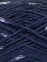 Natural Yarn  Fiber Content 100% Viscose, Navy, Brand Ice Yarns, fnt2-56030
