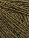 Fiber Content 50% Merino Wool, 25% Acrylic, 25% Alpaca, Brand Ice Yarns, Dark Khaki, Yarn Thickness 2 Fine  Sport, Baby, fnt2-56071