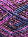 Fasergehalt 50% Wolle, 40% Polyamid, 10% Acryl, Purple, Pink, Maroon, Brand Ice Yarns, Blue, fnt2-56120
