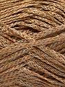 Fiber Content 74% Linen, 26% Polyamide, Brand Ice Yarns, Camel, Bronze, fnt2-56136