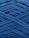 Linen Cotton Natural Yarn  Fiber Content 80% Cotton, 20% Linen, Brand Ice Yarns, Blue, fnt2-56143