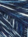 Fiber Content 50% Acrylic, 50% Wool, Brand Ice Yarns, Blue Shades, fnt2-56148