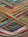 Fiber Content 80% Cotton, 20% Polyamide, Rainbow, Brand Ice Yarns, fnt2-56155